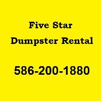 Five Star Dumpster Rentals